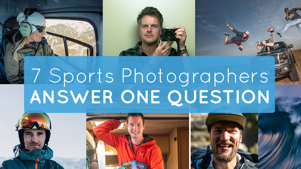 7 sports photographer answer one question