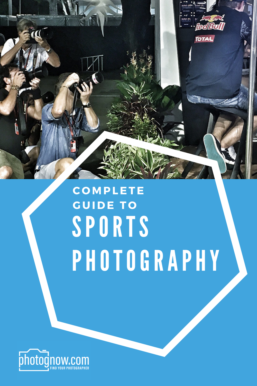 Guide To Sports Photography Pin